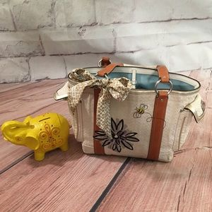 Limited Edition Coach Bumble Bee Canvas Tote